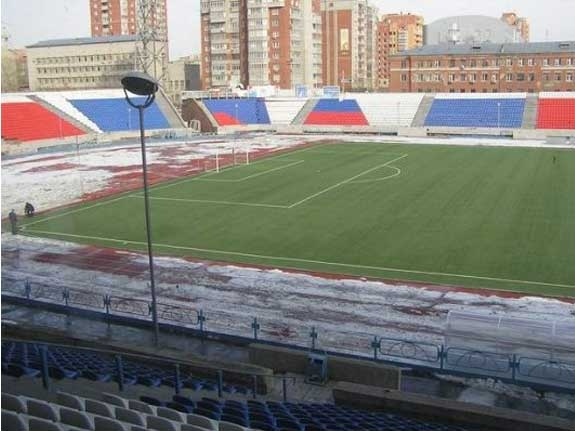 Сибирь (Новосибирск). Стадион «Спартак»