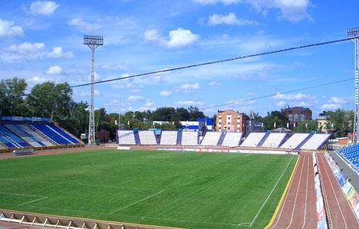 Томь (Томск). Стадион «Труд»